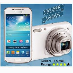 Flipkart : Samsung Galaxy S4 Zoom (16 mp camera) SM-C1010 worth 29990 for Rs. 16499.0