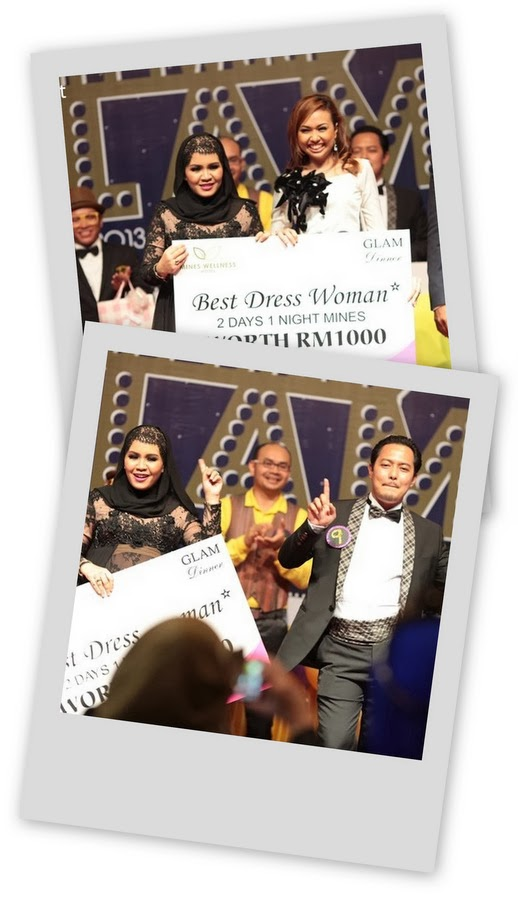 Best Dress award di GLAM Dinner