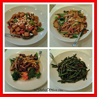 TL's Four Seasons Entree Collage