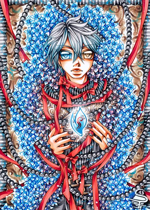 19-Precious-Light-Sandra-Filipova-DarkSena-Manga-Black-and-White-and-Colour-Detailed-Drawings-www-designstack-co