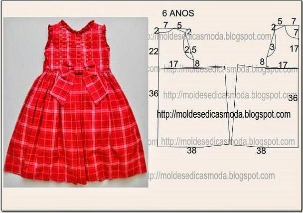 Выкройки для платьев девочке 2-х лет