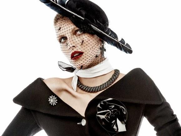 peinados 2015 vintage sombrero