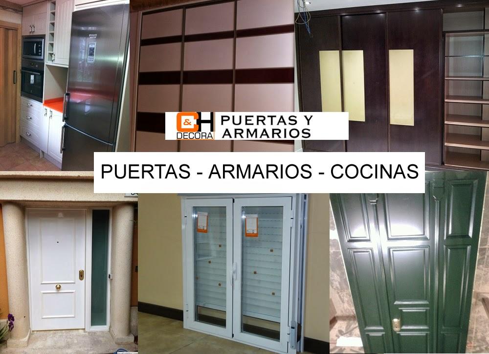 Ch decora puertas cocinas y armarios en madrid - Puertas armarios cocina ...