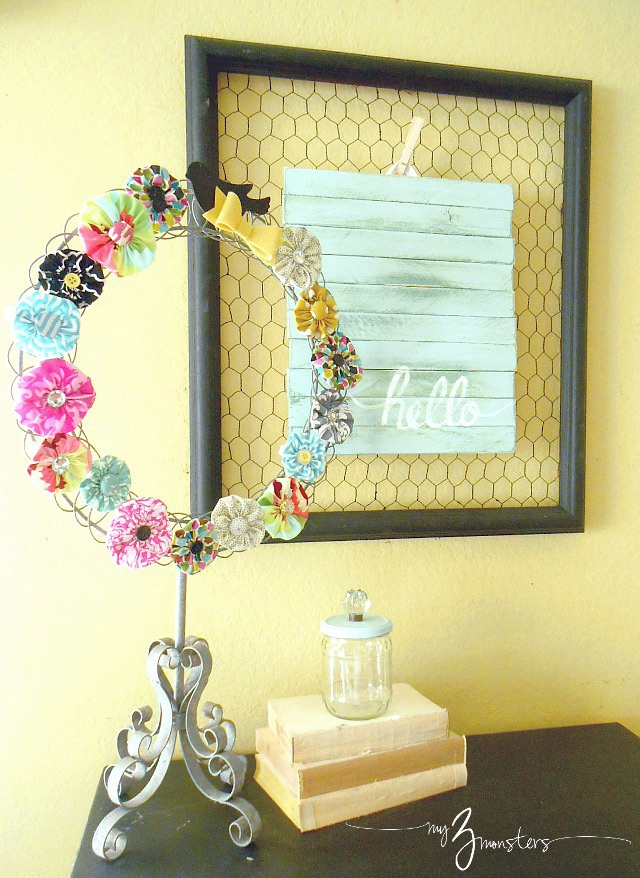 DIY art, palet projects, wood shim, wall decor diy