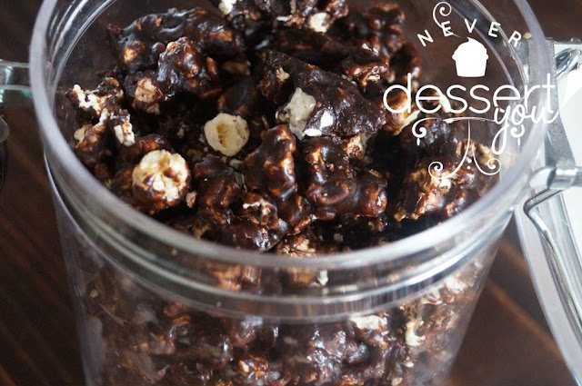 Never Dessert You Chocolate Popcorn