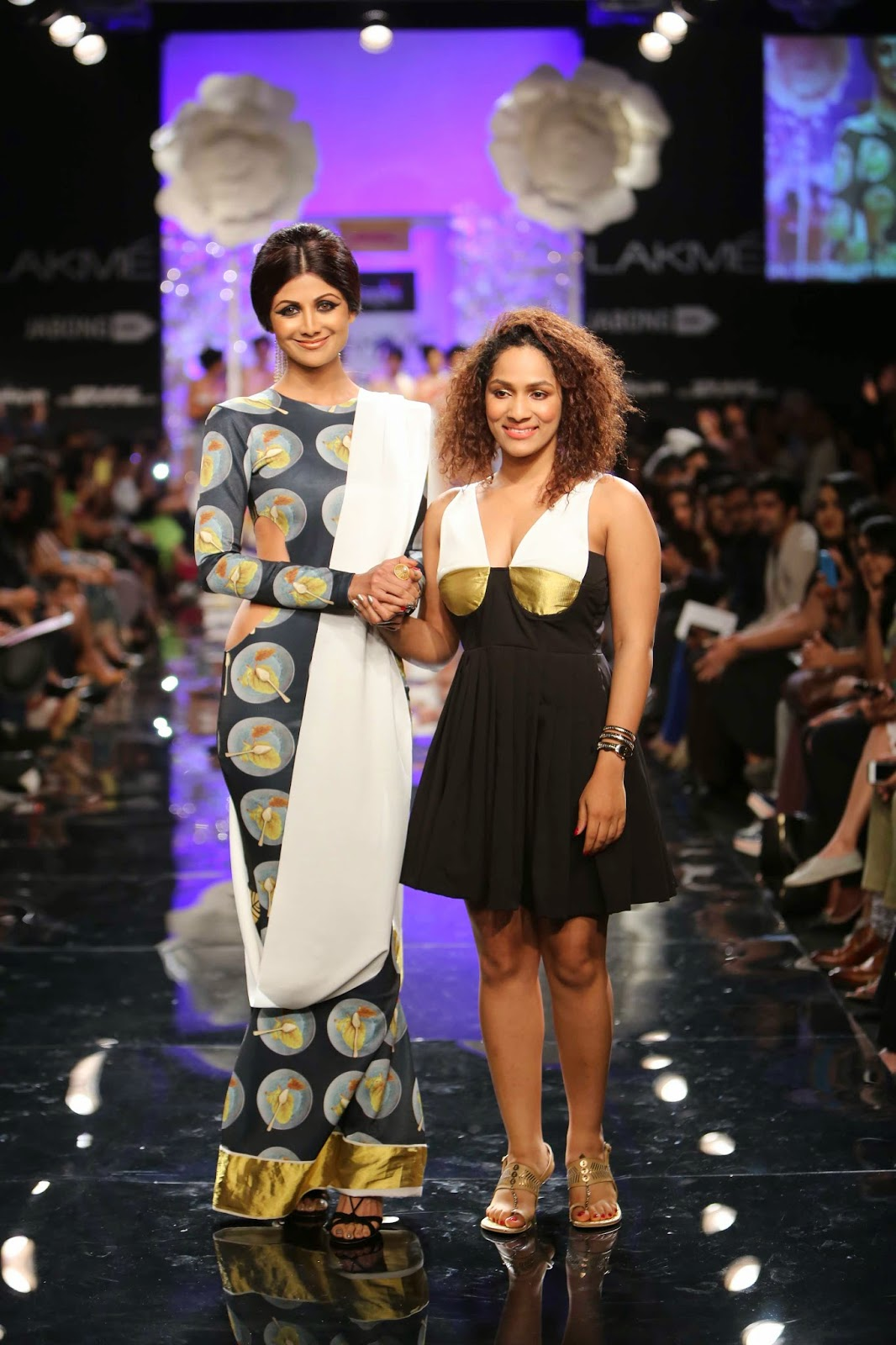 Shilpa Shetty and masaba Gupta....www.aquaintperspective,blogspot.com