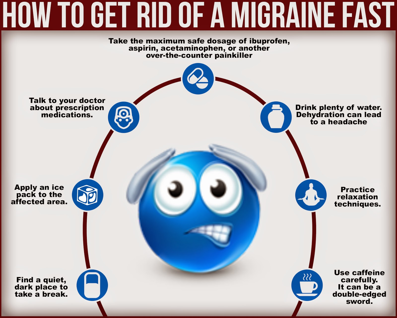 how to get rid of a menstrual migraine fast