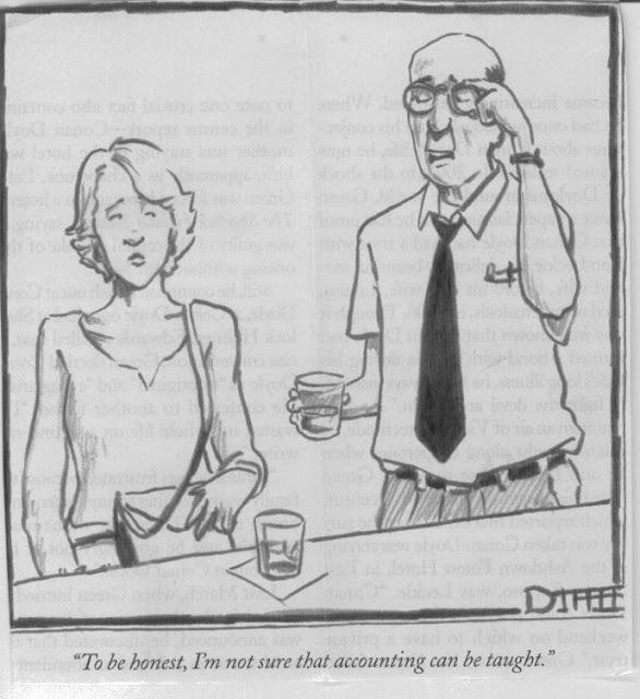 Accountant Cartoon4
