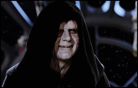 """Palpatine en """"El retorno del Jedi"""" (1983)"""