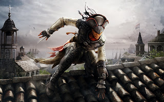 Assassins Creed 3 Aveline on Roof HD Wallpaper