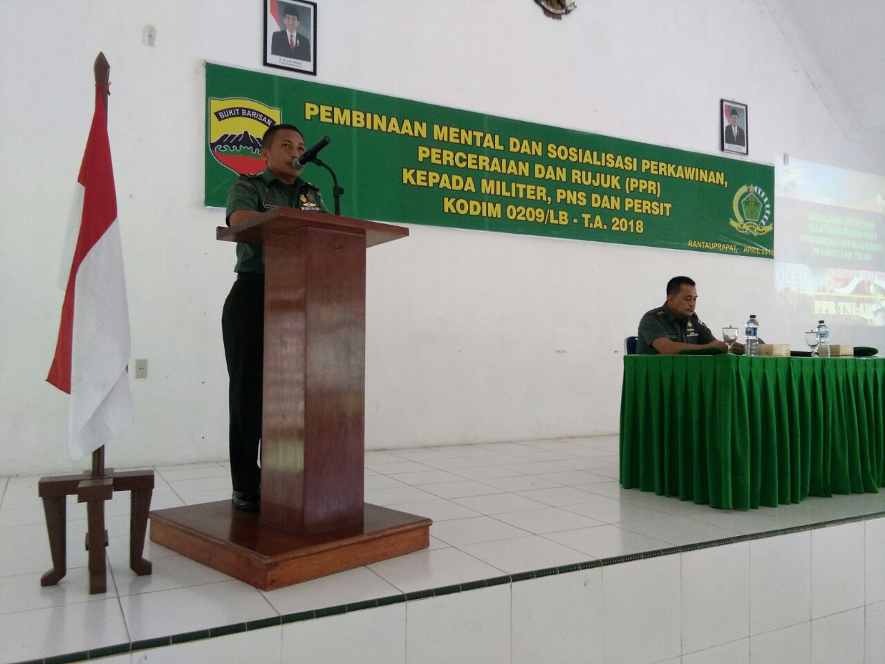 Aturan PPR di tubuh TNI di Sosialisasikan