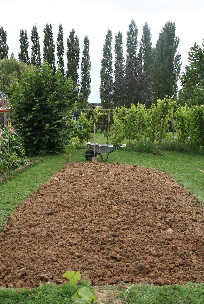 Un jardin potager en hesbaye extension du potager for Agencer un jardin potager