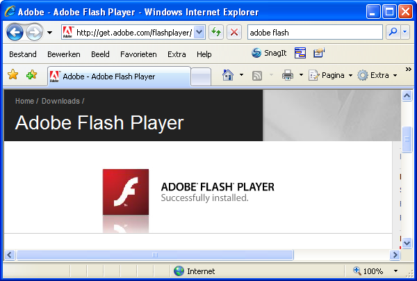 flash players download for windows 7