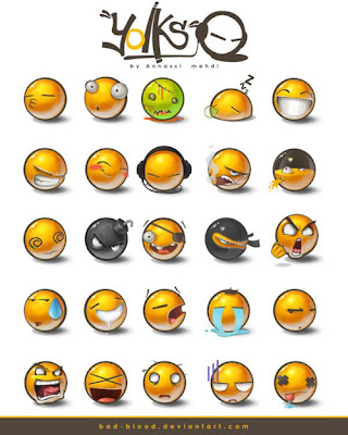 Emoticon BlackBerry Terbaru