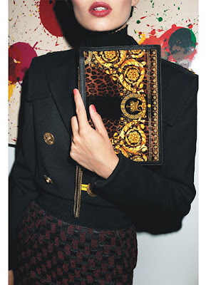 Versace Baroque Clutch - W Magazine