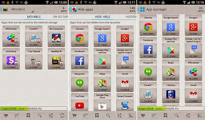 Preview AppMgr Pro III (App 2 SD) Pro | andromin