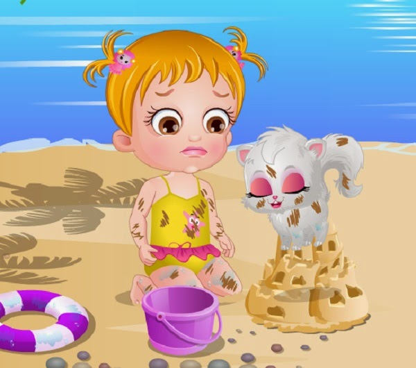 Baby Hazel Spa Bath Games