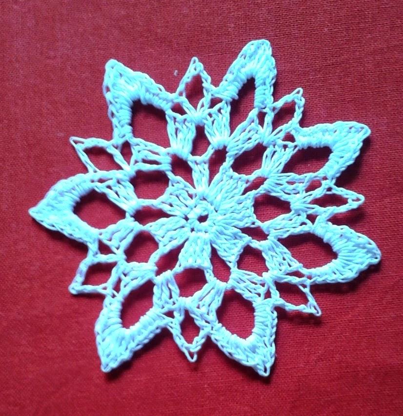 Crochet Snowflake : Crochet Snowflake free pattern