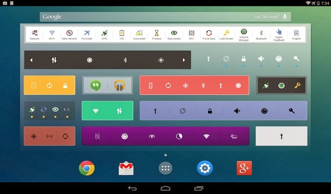 Extended Controls android apk - Screenshoot
