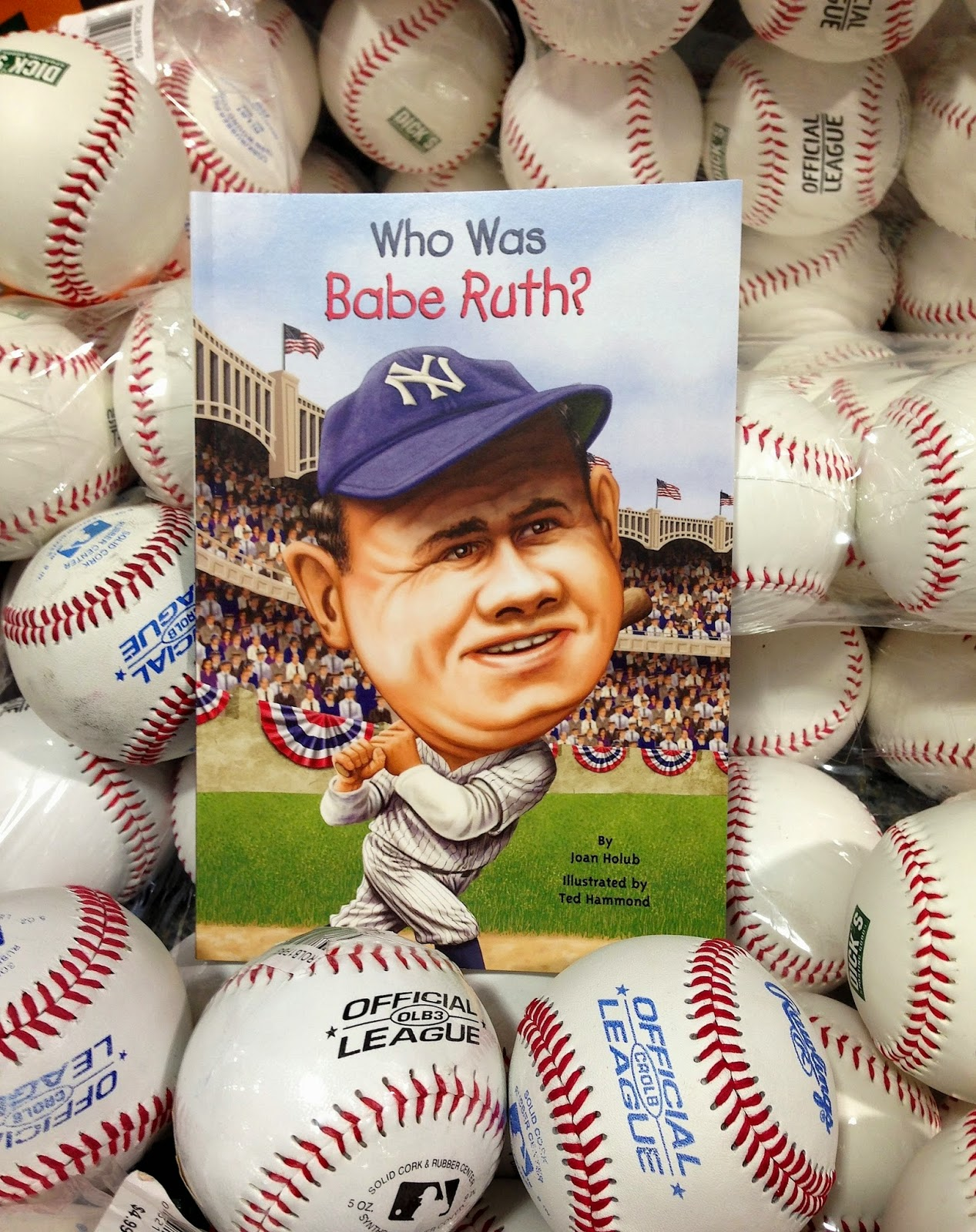 http://www.amazon.com/Who-Babe-Ruth-Joan-Holub/dp/0448455862/ref=sr_1_1?s=books&ie=UTF8&qid=1310084578&sr=1-1