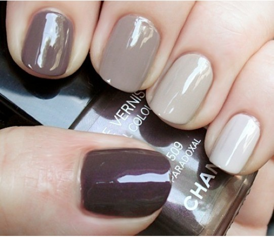 Color Ombre Nails