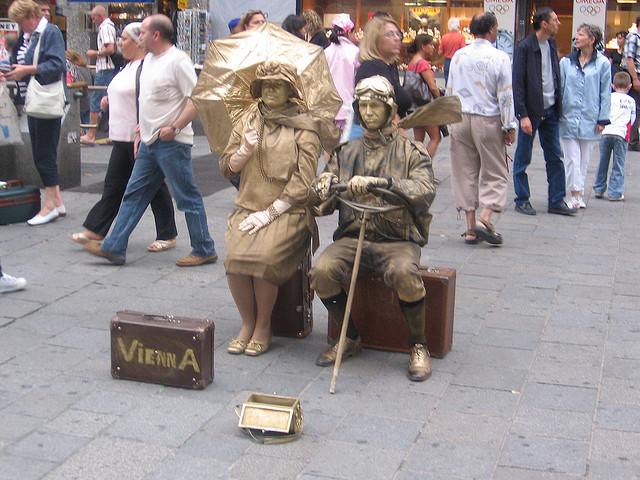 Europe Street Performers