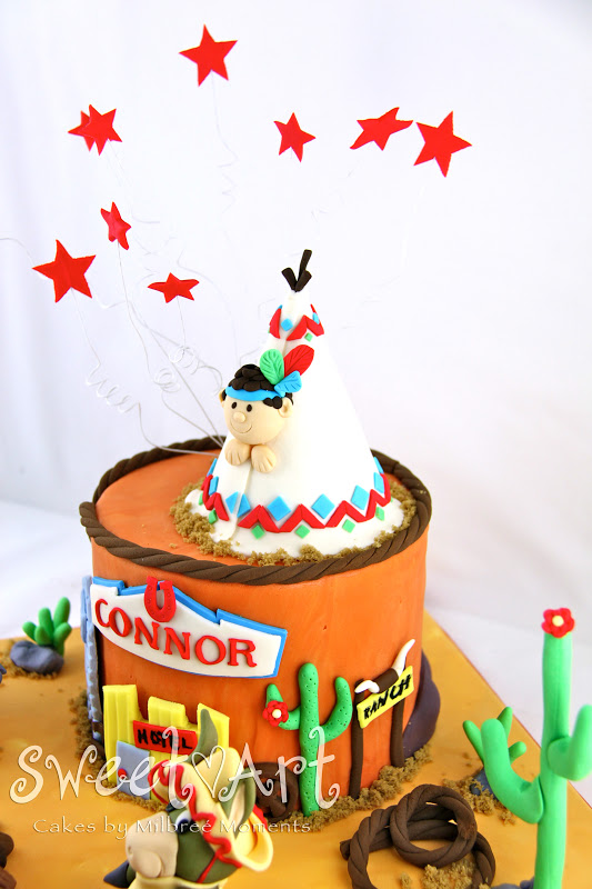 Sweet Art Cakes By Milbre Moments Connors Wild Wild West 3rd