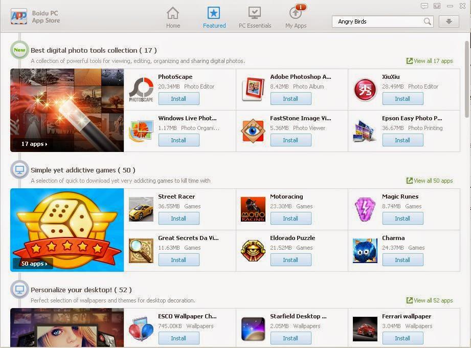 Baidu PC App Store
