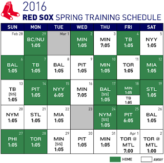 Red Sox Open Against Huskies/Eagles On February 29th
