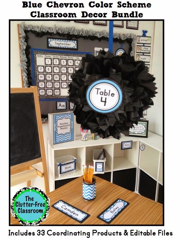 Classroom Decor Blue ~ Do you want to create a beautiful organized classroom