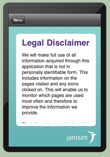 Disclaimer Examples For Presentations