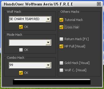 Wolfteam Hile Altın Gold Hilesi 9999 Kurt Mod Combo HP Full 2000 Return CrossHair indir