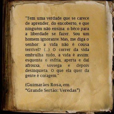 Guimarães Rosa falou...