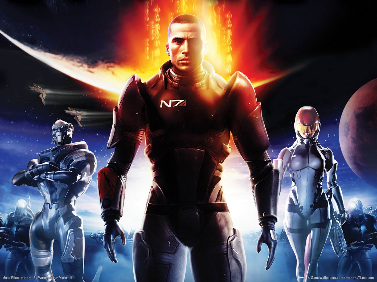 game wallpapers mass effect 2