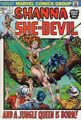 Shanna the She-Devil #1, Jim Stranko cover