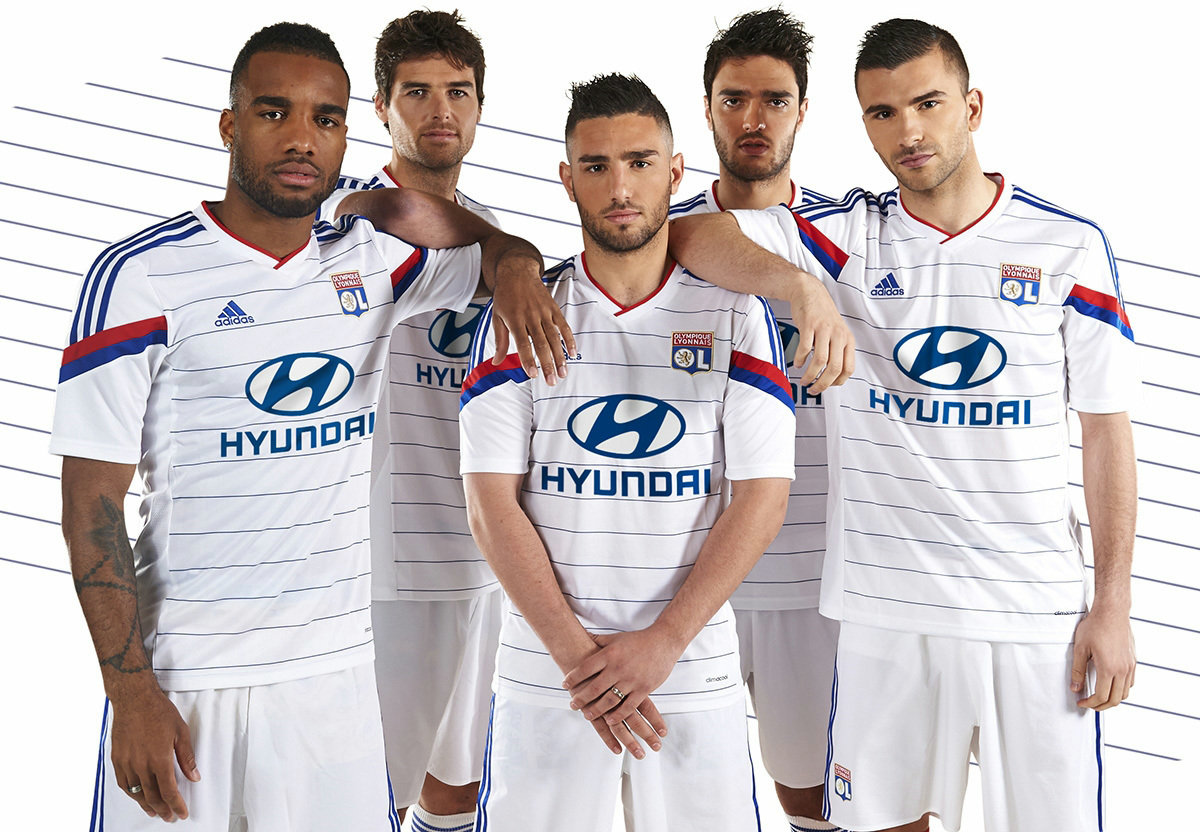 new olympique lyonnais 14 15 kits released footy headlines. Black Bedroom Furniture Sets. Home Design Ideas