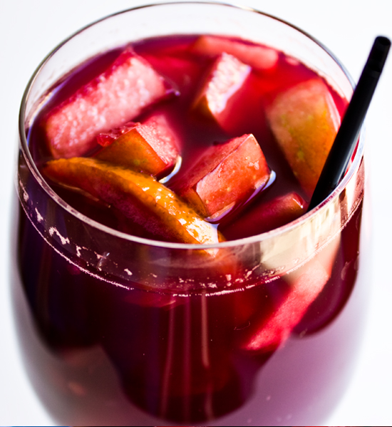 Nutritious Bartending || The Healthier Sangria - HEALTHY HAIR and BODY