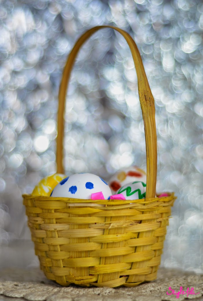 DIY, easter, eggs, paint, art, crafts, do it yourself, style file, blogger, DIY project, basket, decor, lifestyle,