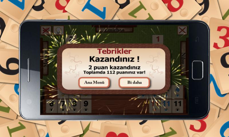 Okey Android Apk resimi 1