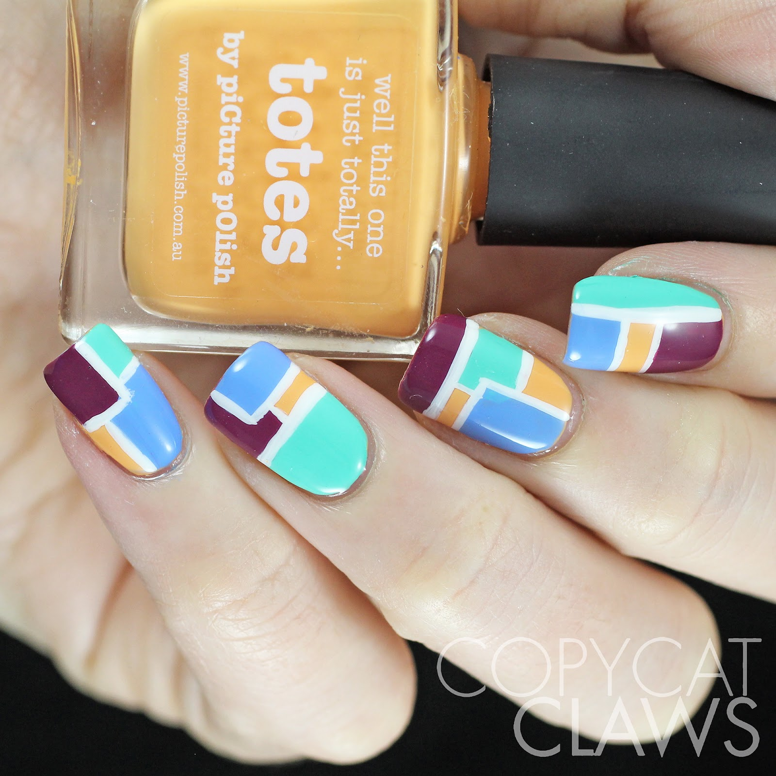 Copycat Claws: The Digit-al Dozen Does Geometric: Day 4