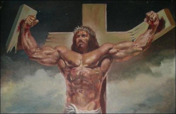 Jesus quebrando a cruz