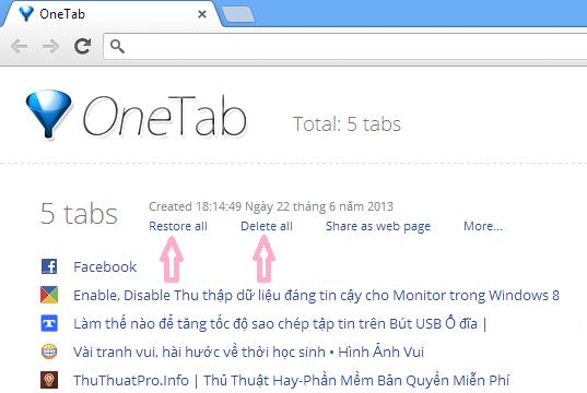 Thủ thuật tối giản Tab Chrome giúp lướt web được thuận tiện hơn
