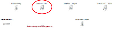 Call Detail of BSNL Number