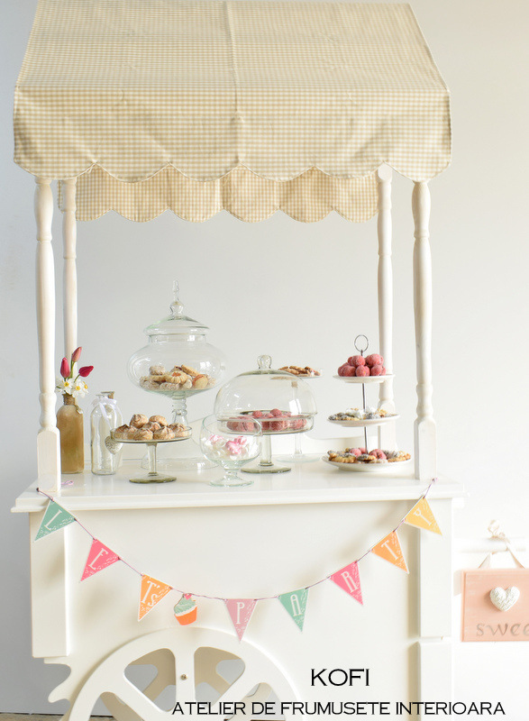 Mobilier candy bar -