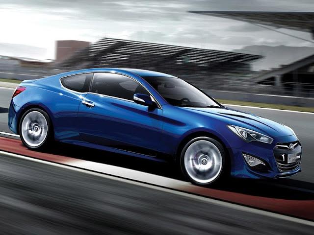 Hyundai Genesis Coupe MY2013