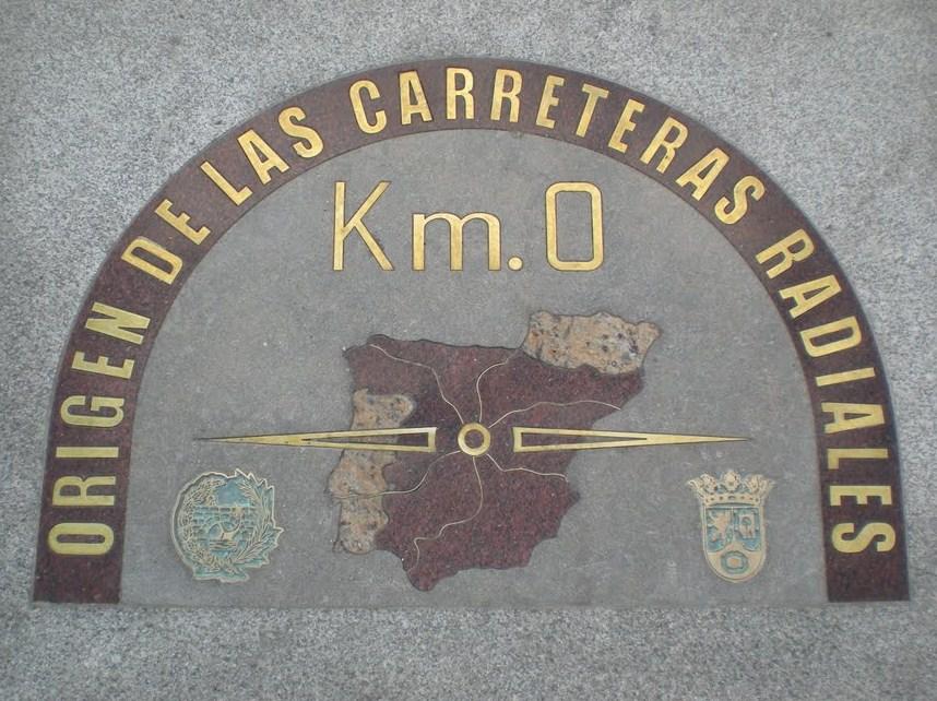 Segunda salida: el Madrid medieval cristiano (parroquias e iglesias) Km_cero
