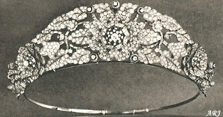 Nyzam of Hyderabad Tiara