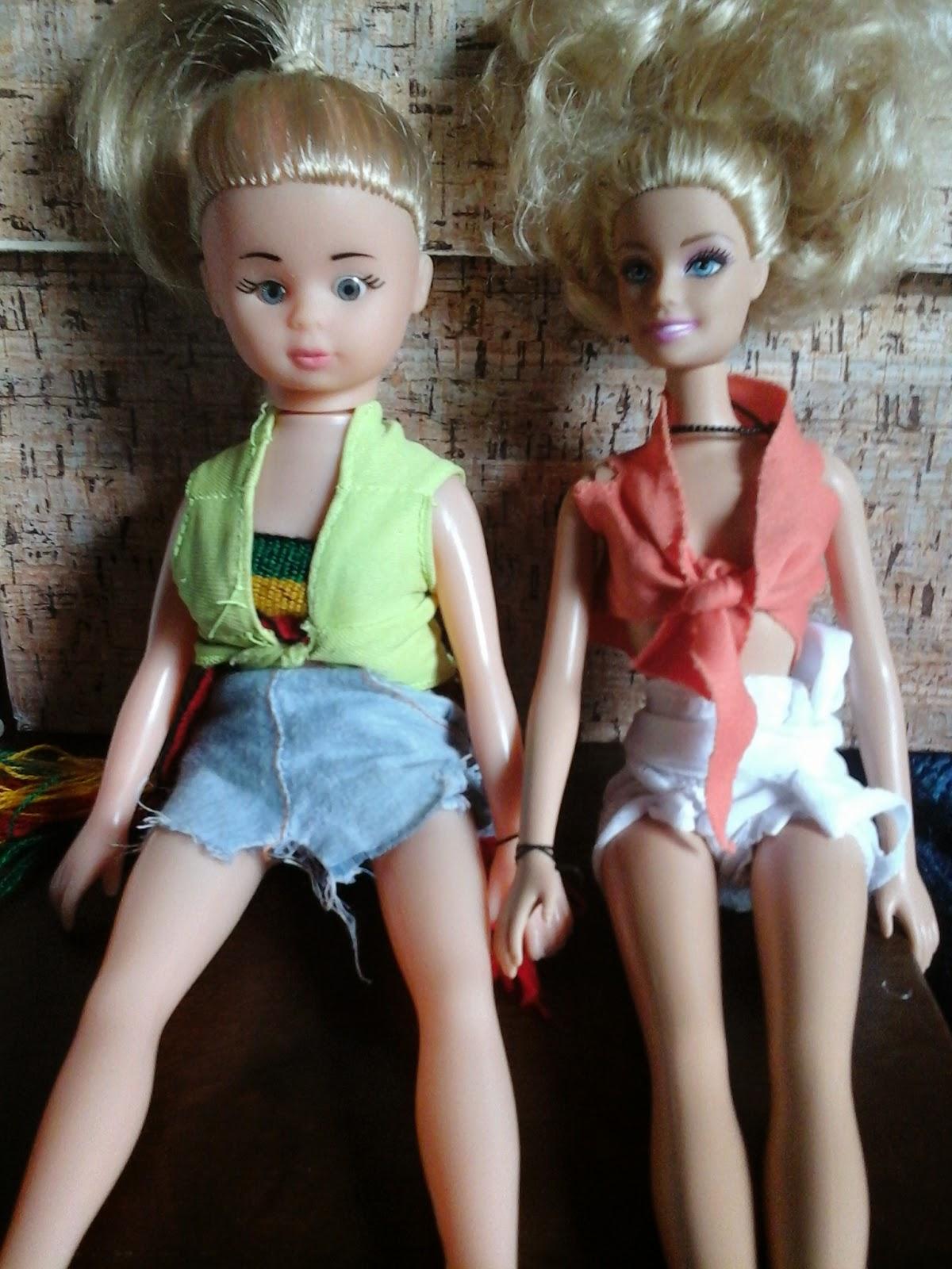 look de verão boneca barbie