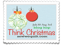 Think Christmas Blog Hop Schedule Here