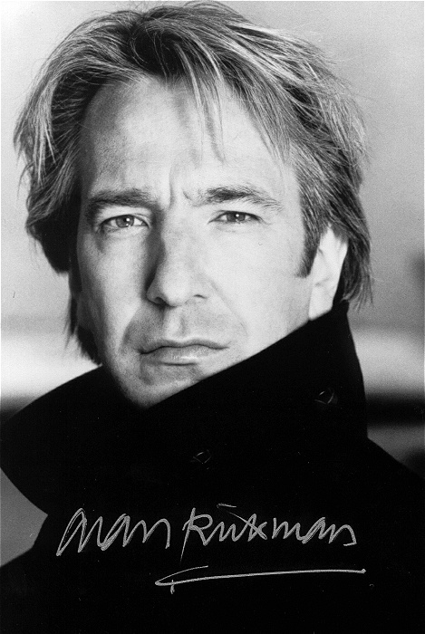 alan rickman harry potter. Alan Rickman#39;s goodbye letter